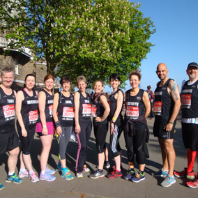 Slimming World's London Marathon Team 2014 - the fab results!