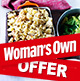 Free membership voucher in Woman's Own magazine