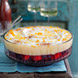 Berry fruit jelly trifle