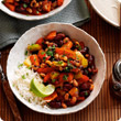 Black-eyed bean and vegetable chilli bowl - Recipes ...