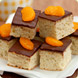 Chocolate orange squares