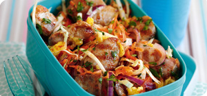 Griddled mango chicken with coleslaw - Recipes - Slimming ...