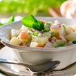 Luxury potato salad